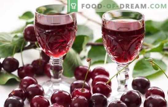 Il liquore alla ciliegia fatto in casa con la vodka è una prelibatezza gustosa per gli adulti. Cosa cucinare con la tintura di ciliegie fatta in casa sulla vodka?