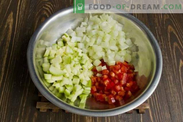 Zuppa vegetariana di ceci con verdure