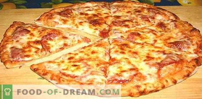 Primi 10 ripieni per pizza a casa (ricette)