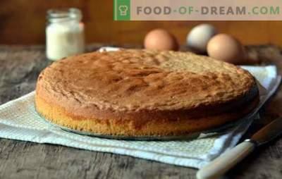 Perché un pan di spagna non funziona: errori comuni