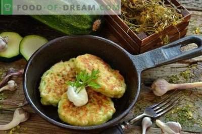 Gustose frittelle di zucchine con formaggio e aglio