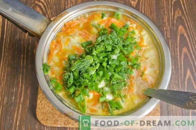 Zuppa di pesce con gnocchi di patate