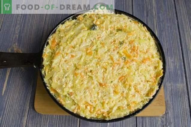 Pasta Casseruola con ricotta e cavolo