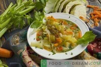 Zuppa di cavolo fresco