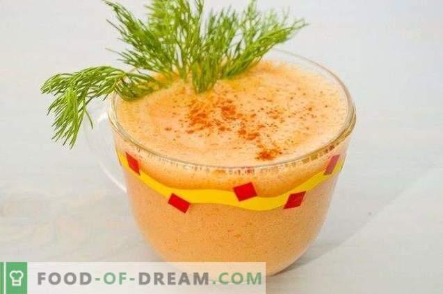 Cocktail da sbornia - frullato di verdure con peperoncino e greco ...