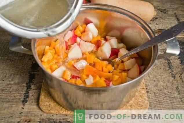 Marmellata di mele con zucca - il dolce sapore dell'autunno
