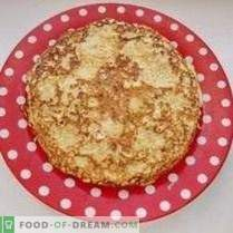 Torta di Zucchini per Pancake