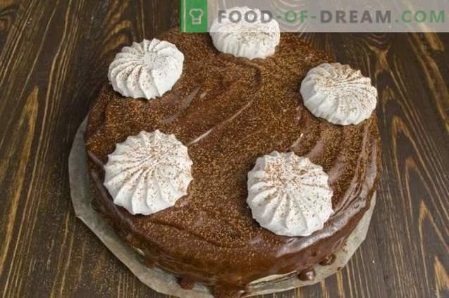 Torta al cioccolato con Marshmallow