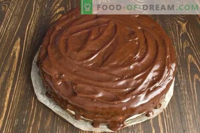 Шоколадова торта с Зефир