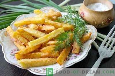 Le patatine fritte fatte in casa sono più gustose, più naturali e più economiche rispetto a McDonalds. Come cucinare le patatine fritte a casa.