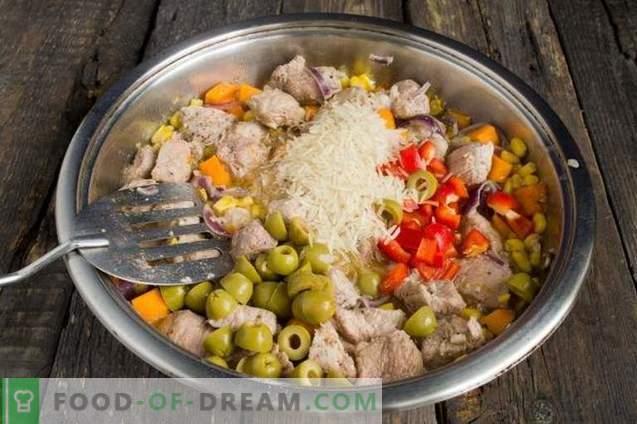 Carne di maiale in zucca messicana