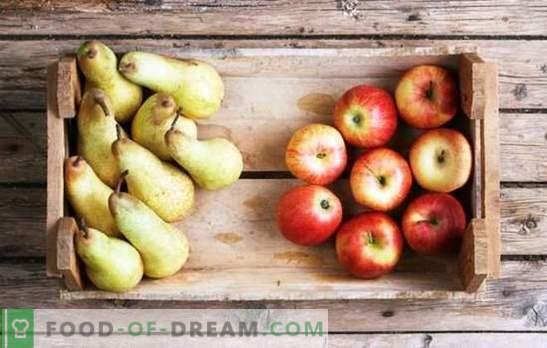 Composta di mele e pere per l'inverno: i componenti del gusto. Composta preferita di mele e pere per l'inverno in ricette senza conoscenza