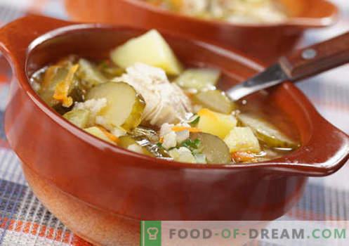 Sottaceti fatti in casa - le migliori ricette. Come cucinare bene e gustoso casa rassolnik.