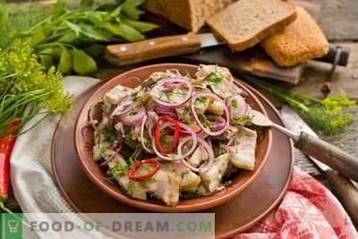 Insalata di carne rustica erbe marinate