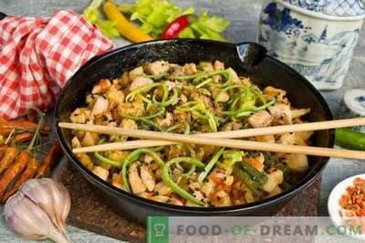 Pollo con verdure alla cinese