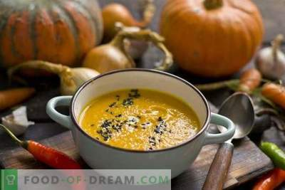 Zuppa di zucca con carote e zenzero