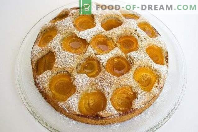 Austrijos abrikosų pyragas