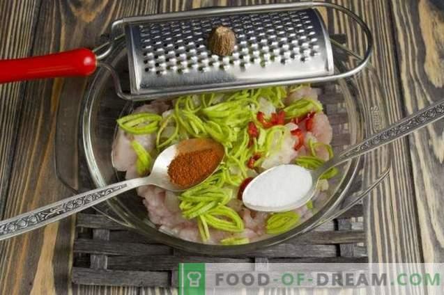 cotolette di pollo nel microonde