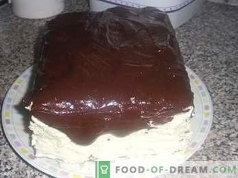 Come cucinare una torta Il latte di uccello con la semola, una ricetta dettagliata.