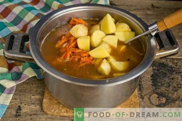 Zuppa di fagioli con costole