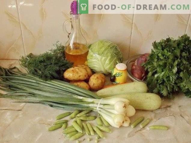 Sommereintopf mit jungem Gemüse