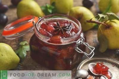 Marmellata di pere e prugne - la più facile da preparare