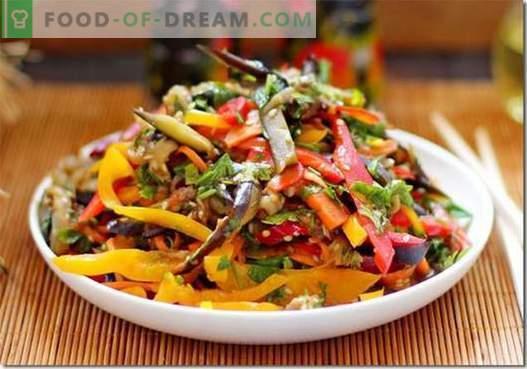 Melanzane coreane - le migliori ricette. Come cucinare correttamente e gustoso melanzane in coreano.