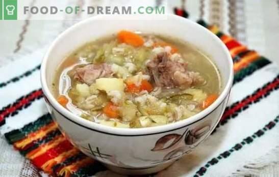 Sottaceti di pollo con orzo perlato: ricette, segreti, trucchi. Come cucinare un delizioso sottaceto di pollo con orzo