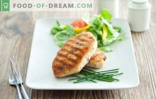 Carne Zrazy con formaggio - hamburger succulenti con ripieno! Semplici ricette di carne fritta e cotta al forno con formaggio