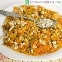 Torta con pollo e verdure