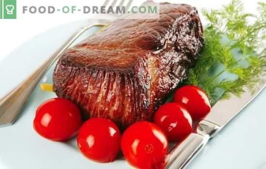Manzo con pomodori - un duetto con gusto! Una selezione delle migliori ricette per cucinare carne tenera con pomodori.