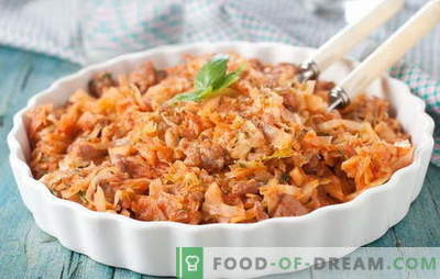 Stewed cabbage with meat and potatoes - an all-season dish! Stew cabbage with meat and potatoes in different ways: recipes