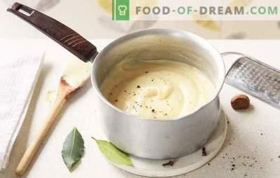 Come cucinare la besciamella a casa? Varianti di besciamella a casa: con cipolle, carne, formaggio e funghi