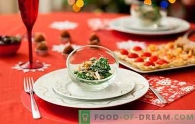 Finger-food sulla tavola di Capodanno: come migliorare il corpo e mangiare bene?
