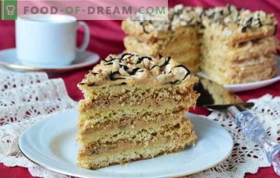 Torta Air Snickers - dessert di meringa croccante! Ricette per torte aeree di biscotti, biscotti e frollini