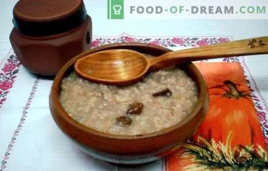 Cottura di porridge d'orzo in acqua - una sana colazione in venti minuti. Come cucinare il porridge d'orzo su acqua e latte?