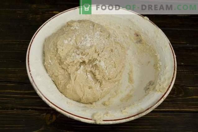 Torta con carne e funghi in forno