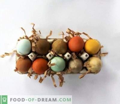 Come dipingere le uova per Pasqua con prodotti naturali