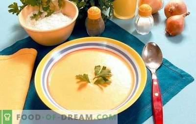 Purè di zuppa in un multicooker: buongustai golosi. Ricette di zuppe in una pentola a cottura lenta: formaggio, pollo, verdure, funghi, fegato