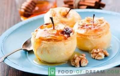 Cosa cucinare in modo rapido e gustoso? Ricette veloci per deliziose pietanze a base di mela: dai dolci alla cottura e alle insalate