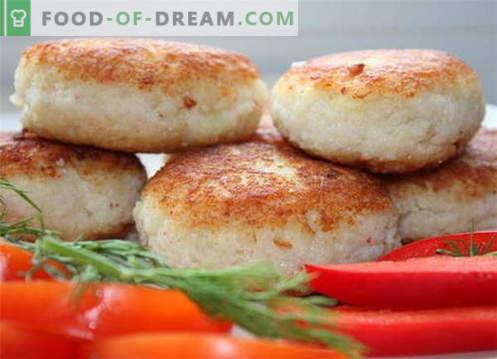 I fishcakes sono le migliori ricette. Come cucinare correttamente e gustosi polpette di pesce.