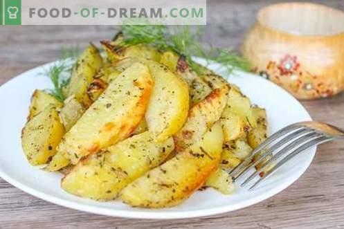 Le patate in stile country sono un piatto festivo ed economico!