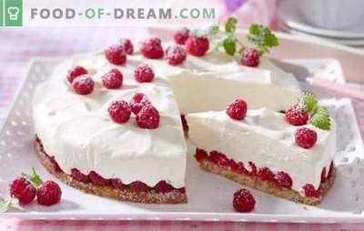 Delicato e gustoso dolce a basso contenuto calorico - ricette delicate per dolci sottili. Varianti di panna e pasta per torta a basso contenuto calorico