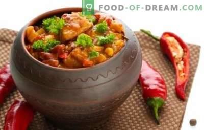 Chanah in vaso: visiteremo la Georgia! Ricette per un piatto fragrante di chanakhi in pentole con pollo, carne, fagioli, melanzane
