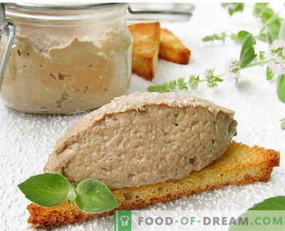Patè di pesce - le migliori ricette. Come cucinare bene e gustoso patè di pesce.