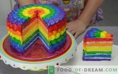 Siamo sorpresi dal gusto e dal colore: torta