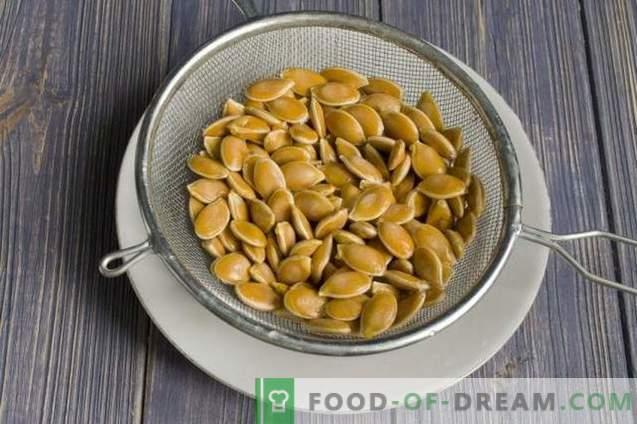 Come realizzare una lampada di zucca e semi di zucca secchi?