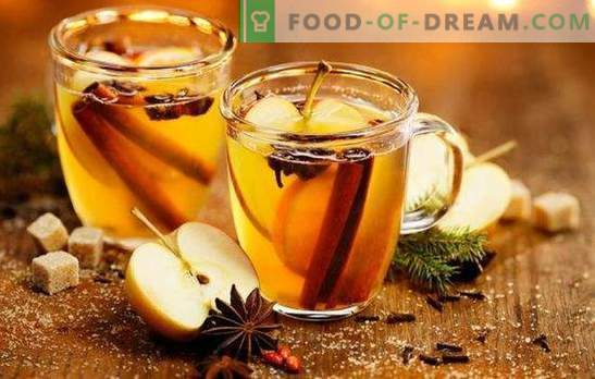 Riscaldare il corpo e l'anima - vin vino bianco caldo. Preparare un vin brulè aromatizzato dal vino bianco con bacche, agrumi, miele, mele