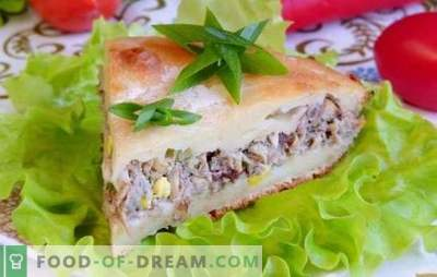 Sāļa pīrāgs ar sauru - vēl viens, vēl viens gabals! Receptes satriecošām plūdu kūkām ar saharu un dārzeņiem, graudaugiem, olām