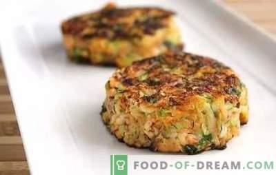 Zucchine e polpettine tritate: una ricetta veloce per la cena! Ricette veloci per zucchine e polpettine tritate in padella, in forno e doppia caldaia